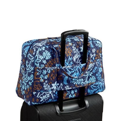 Java Floral Vera Bradley WEEKENDER TRAVEL Trolley Sleeve Carry On BAG NWT