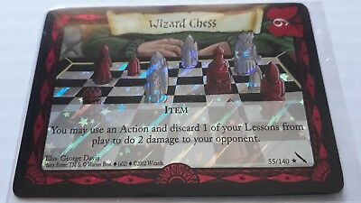 Harry Potter Chamber of Secrets Foil Card *Wizard Chess* TCG CCG