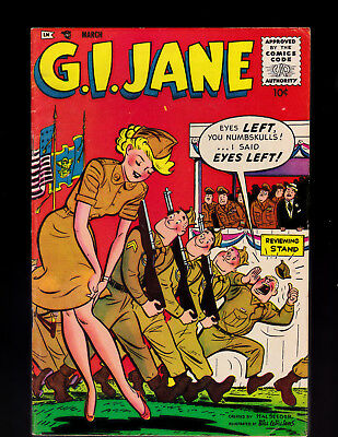 G. I. Jane 4 only 3 CGC graded Dizzy Dame ish Rare Solid Condition