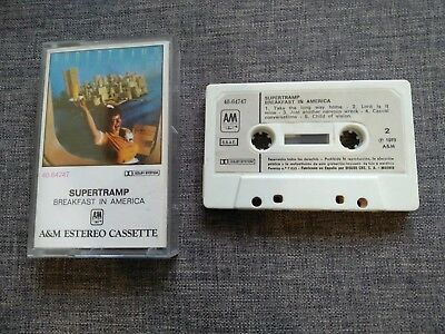Cassette - Casete - Supertramp - Breakfast In America - Rare
