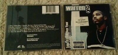Warren G - Take A Look Over Your Shoulder (Reality) - UK CD