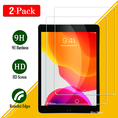 2X PACK Tempered Glass Screen Protector Film for Apple iPad 2 3 4 5 6 | Pro 9.7""