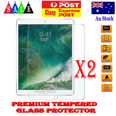 2X Tempered Glass Anti Scratch Screen Protector for Apple iPad Mini 1 2 3 4 2019