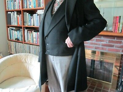 Old West frock coat w/matching vest