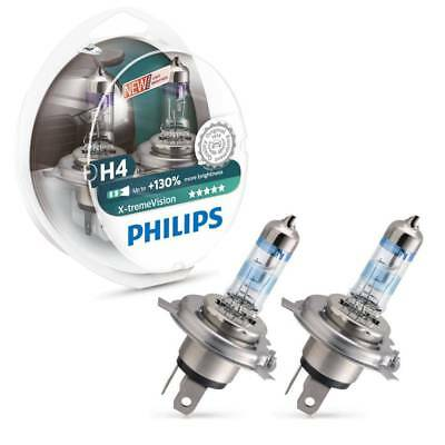 Philips Xtreme Vision +130% H4 472 Headlight Headlamp Bulbs HB2 60w 55w 12v