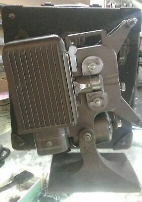 Kodak Kodascope Eight Model 70, 8mm Film Projector With Case and 2 Reels