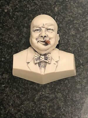 Hard find Winston Churchill head. By Neil Eyre signed.