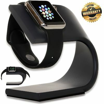 Apple Watch Stand Charging Dock (Space Gray) - Aluminum Charging Dock