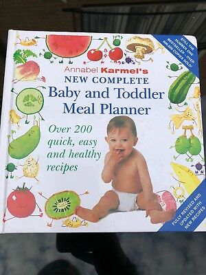 Annabel Karmel's Baby & Toddler Meal Planner Book