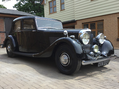 Derby Bentley 4 & 1/4 ltr Park Ward Saloon - 1 owner - 1937 - History from day 1