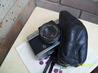 Vintage Olympus-Pen D3 35mm Film Camera with Olympus F-Zuiko 1:1.7 F=32 mm lens