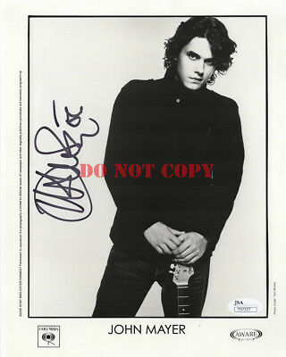 John Mayer Born And Raised Tour Autographed Signed A4 Print Poster Photo Picture