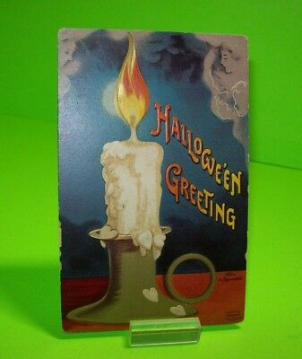 Halloween Postcard Ellen Clapsaddle Embossed Art ANTIQUE Original NON Posted #41