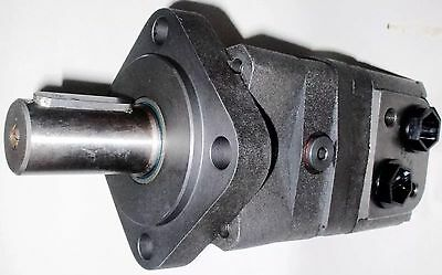 Hydraulic Motor 315 cc/rev Straight Keyed Shaft 32 mm Side Ports G1/2
