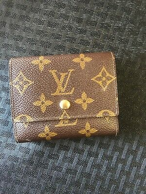 Louis Vuitton Snap Credit Card Case Folds and Snaps Vintage Pre-owned