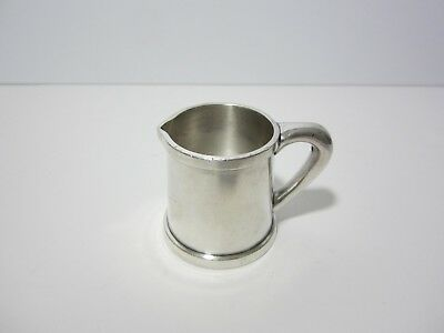- old vintage - CHILDS RESTAURANT - Hotel Ware Silver Creamer - 1st in NYC