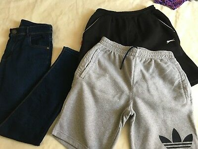 Joblot Boys Summer Clothes Next Adidas Age 13-14 Years Skinny Jeans & Shorts