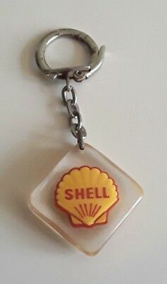 """Porte-Cle Bourbon Coquille """" Shell """" Automobile * Motor Petrole Oil / Keychain"""