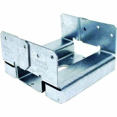 Simpson Strong Tie ABA 6 in. x 6 in. ZMAX Galvanized Adjustable Post Base