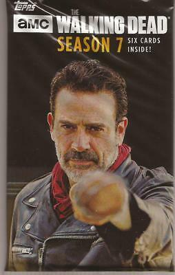 Topps The Walking Dead Season 7 10 - Retail Sealed Packs Lot Autograph Sketch ?
