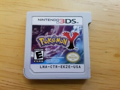 Pokemon Y (Nintendo 3DS, 2013) Game Only!