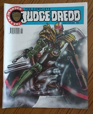 The Complete Judge Dredd : The Law In Order : Issues 1 - 42