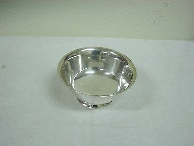 """reed and barton silver plated bowl """"paul revere pattern"""""""
