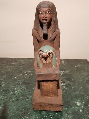 Rare Antique Ancient Egyptian Statue Pharaoh Horomheb Leader Army1319-1292BC