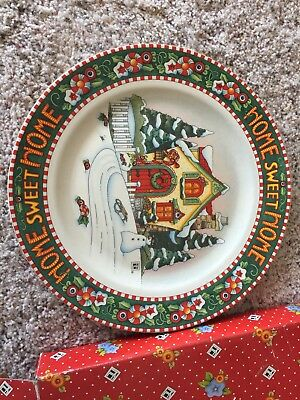 Mary Engelbreit Home Sweet Home Dinner Plate746819, Only 1 of 2.