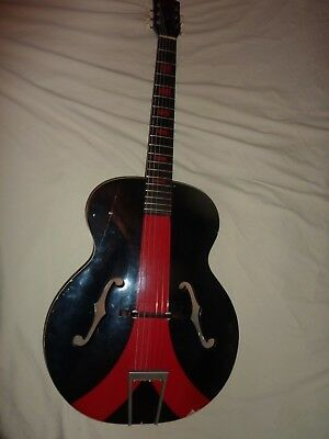 Harmony Monterey 1950's Production H952 Five-String Acoustic Guitar -Very Rare!