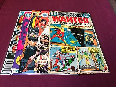 Lot of #1  Bronze age comics First Appearances VF