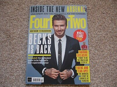 Four Four Two Magazine - August 2018 (Issue 290) - David Beckham feature