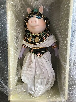 Miss Piggy as Cleopigtra Porcelain Doll, 1985