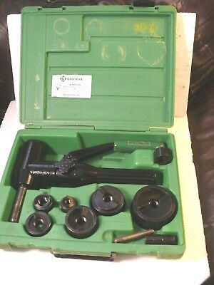 Greenlee Quick Draw 90 7904Sb Hydraulic Punch Driver Set 1/2 - 2 In Knockout Set