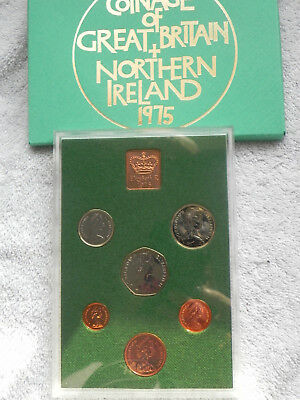 Great Britain & Northern Ireland 1975 Proof Set