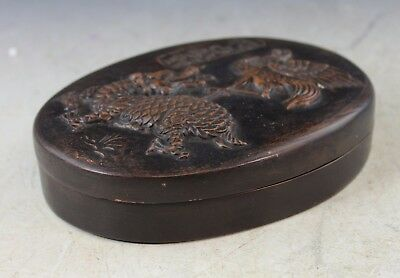 Antique Chinese Stone Inkstone