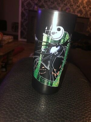 Nightmare Before Christmas glass Disney store exclusive
