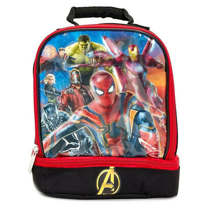 Avengers Soft Dual Compartment Lunch Box
