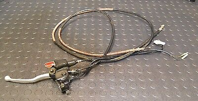 Yamaha RAPTOR 660 Clutch lever parking brake and cables 2001-2005 660R oem stock