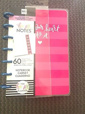 NEW! me & my big ideas MINI HAPPY NOTES Notebook
