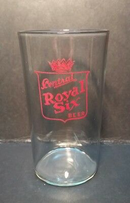 Rare Central Brewery Royal Six Beer East St Louis Glass