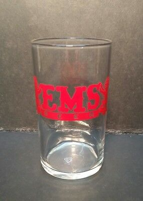 Rare EMS Beer EMS Brewing Co East St Louis IL Glass