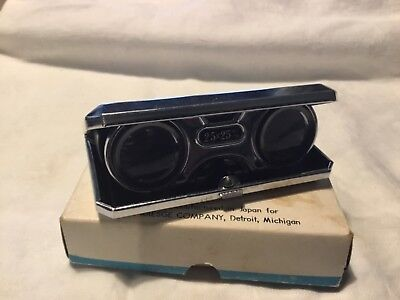 Precision Made Folding Opera Glass Manufactured in Japan for S. S. Kresge Co