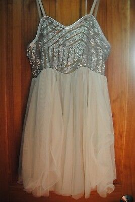 """Dance Costume """"Peace and Joy"""" by Curtain Call Size Adult Large in Ivory"""