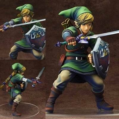 Anime The Legend of Zelda Skyward Sword Link 1/7 Scale PVC Figure No Box 20cm