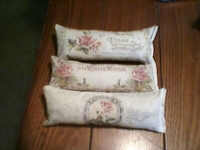 french roses paris shabby Ornies tuck basket primitive vintage rustic country