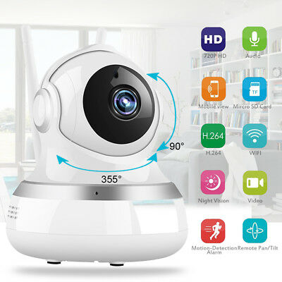 Wireless WIFI HD 1080P IP Camera Baby Pet Monitor Two-Way CCTV Security System