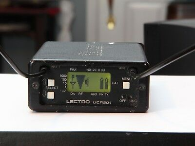 Lectrosonics UCR 201wireless microphone receiver. BLOCK 21
