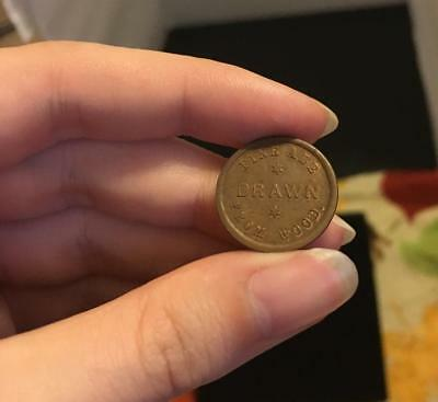 New York City Civil War Token Carland's Bowery Fine Ale Drawn From Wood