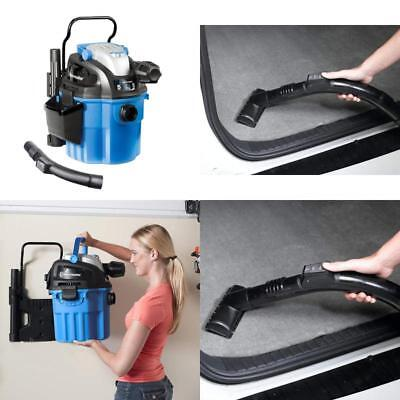 5 Gal Shop Vacuum Wet Dry Wall Mount 2 Stage Vac Cleaner Blower Car Garage New